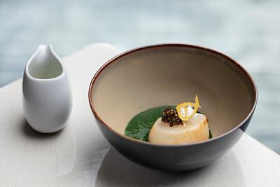Voyages by Alain Ducasse restaurant at the Morpheus hotel in the City of Dreams resort in Macau.