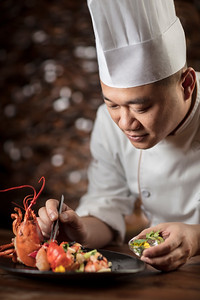 Mingang Li, Chef de Cuisine of Ying restaurant at Altira Macau hotel