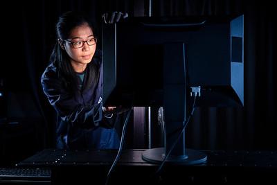 TUV Rheinland monitor testing laboratory in Shenzhen.