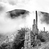 """Third Place<br /> Advanced Landscape<br /> Arno Goetz <br /> St. Mark's School of Texas<br /> Dallas, TX<br /> Instructor: Scott Hunt<br /> """"Cacti in the Clouds"""""""