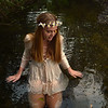 """Honorable Mention<br /> Advanced Informal-Environmental Portrait<br /> Claire Cramm <br /> Episcopal School of Dallas<br /> Dallas, TX<br /> Instructor: George Fiala<br /> """"Peace"""""""