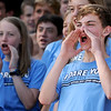 """Honorable Mention<br /> Advanced Sports-Reaction<br /> Mackenzie Hanna <br /> Shawnee Mission East HS<br /> Prairie Village, KS<br /> Instructor: Dow Tate<br /> """"Cross Country boy watching ice bucket challenge """""""