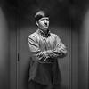 "Honorable Mention<br /> Advanced Formal (Studio) Portrait<br /> Mason Smith <br /> St. Mark's School of Texas<br /> Dallas, TX<br /> Instructor: Scott Hunt<br /> ""Haze"""