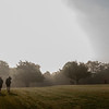 """Honorable Mention<br /> Advanced Sports-Action<br /> Christina Craig <br /> Lawrence Free State HS<br /> Lawrence, KS<br /> Instructor: Marsha Poholsky<br /> """"Runners in the Fog"""""""