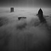 "First Place<br /> Advanced Architecture/City Scape<br /> Zoya Virani <br /> The Kinkaid School<br /> Houston, TX<br /> Instructor: Farrah Braniff<br /> ""Above The Clouds"""