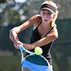 "Third Place<br /> Advanced Sports-Action<br /> Alyssa Vuillemin <br /> Shawnee Mission East HS<br /> Prairie Village, KS<br /> Instructor: Dow Tate<br /> ""Winning Volley"""