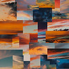 """Honorable Mention<br /> Advanced Digitally Constructed Single Images<br /> Miranda Greenwalt <br /> Episcopal HS<br /> Bellaire, TX<br /> Instructor: Jaime Sonnier<br /> """"Mixed Sunsets"""""""