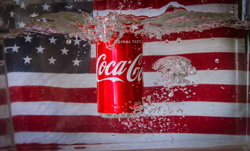 Honorable Mention<br /> Advanced Advertising<br /> 2018 ATPI Fall Contest<br /> Gabriella Daniel<br /> KISD Career Center<br /> Killeen, TX<br /> Instructor: John Smallwood<br /> Floating Coke