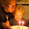 Agnes 2-årsdag.