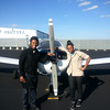 Getting ready for take off on our flight lesson in New York