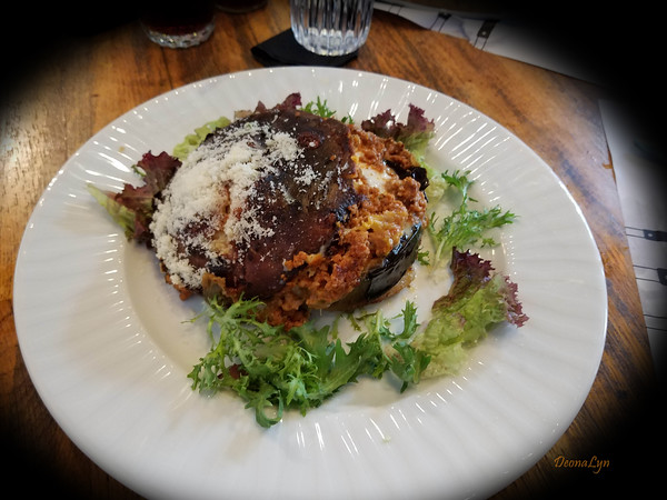 Lunch-Moussaka