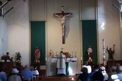Feast of St. Pius X at St. Edward's Church (Newark, CA)