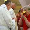 Fr. Jim during communion