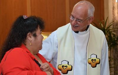 Fr. Dominic says hello