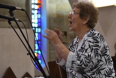 Leading the choir