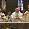Eucharist with Fr. Steve, Dn. David and Fr. Ed