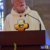 Fr. Ed gave the homily