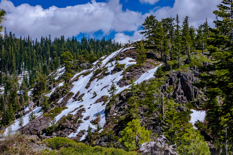 Frazier Falls Trail View