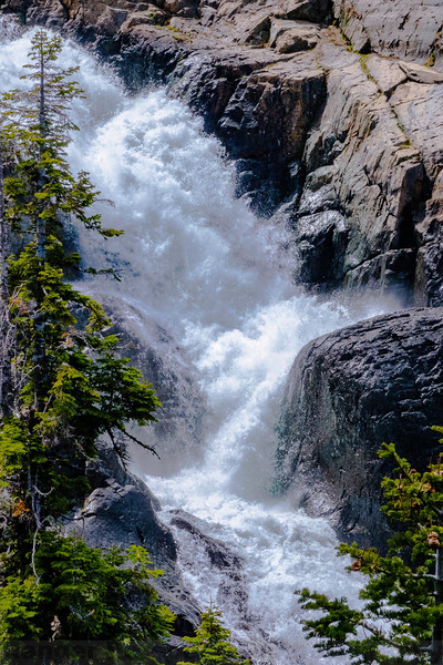 The Upper Plunge of Frazier Falls