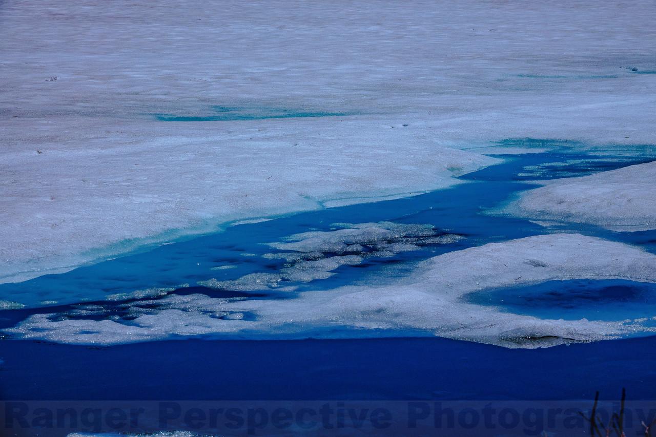 Melting Ice on Goose Lake