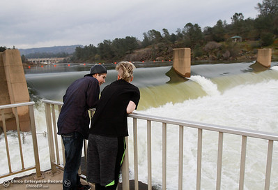 January 31, 2017 at the Feather River Fish Hatchery in Oroville, California. (Emily Bertolino -- Enterprise-Record)