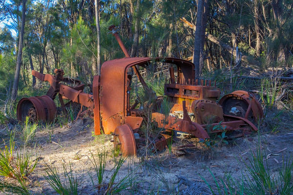 Old Truck - Ben Boyd National Park, New South Wales