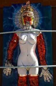 Artist's Studio Exterior Instalation Bisbee AZ_2660
