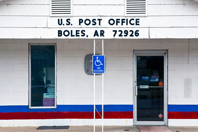 U S Post Office Boles AR_8499