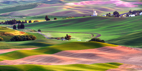 Palouse in East Washington