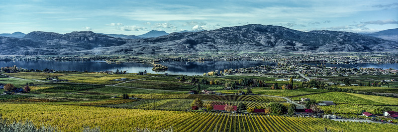 Osoyoos Autumn Panorama
