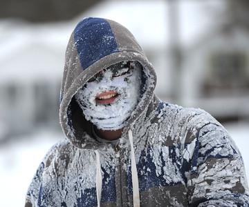Snowy Friday in Bristol