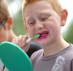 Kids Dental Day at Healing Hands