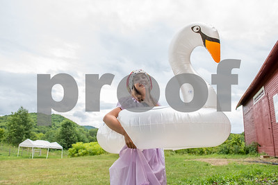 "Isla Mackenzie as ""Mother Goose"" (Robert Layman / Staff Photo)"