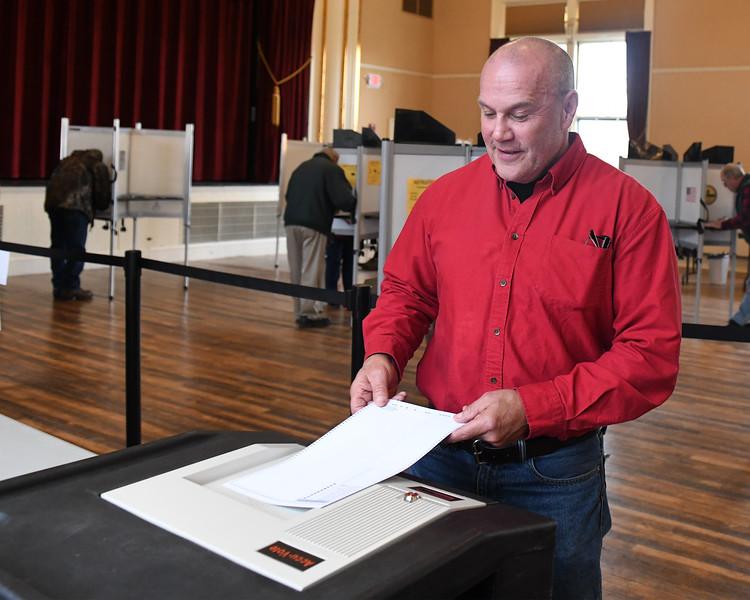 Thomas Burditt Voting