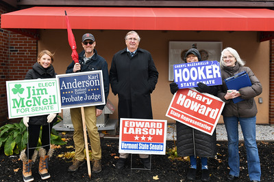 Candidates and Supporters at American Legion