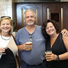 Lynn, Ma. 7-26-17. Maureen Zuccaro, Tommy and Kathy McNamara at the George Thorogood concert at Lynn Auditorium. tommy and Kathy are celebrating birthdays.