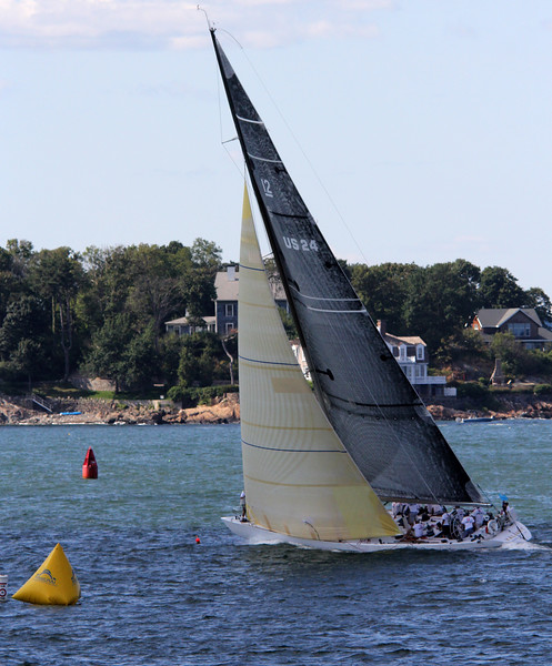 Marblehead, Ma. 8-13-17.  I believe this boat the Valiant, placed first in the Corinthain Classic yacht Regatta.
