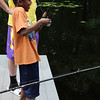 Middleton, Ma. 6-27-17. William McIntire of Lynn tries fishing for the first time at Camp Creighton Pond in Middleton.