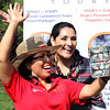 Lynn, Ma. 8-27-17. Veronica Robles and Daniela Valdivia talking selfee at the the First Sporting and Recreational Fair amigos de la Voz held at McManus Field on Sunday.