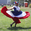 Lynn, mM. 8-27-17. Gicelmy Espina perfroming at the First Sporting and Recreational Fair amigos de la Voz held at McManus Field on Sunday.