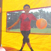 Lynn, Ma. 8-27-17. Tony Gomez using the bouncy house at the First Sporting and Recreational Fair amigos de la Voz held at McManus Field on Sunday.