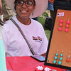 Lynn, Ma. 8-27-17. Janavy Gonzales of Janavy's Homemade Accessories, was on hand at the First Sporting and Recreational Fair amigos de la Voz held at Mcmanus Field on Sunday.