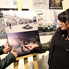 Lynn, Ma. 4-6-17. Carla Scheri and Carolyn Cole look over pictures of the furture at the Beyond Walls fundraiser at the Lynn Museum