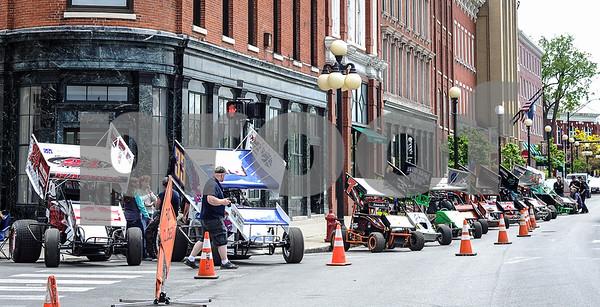 Robert Layman / Staff Photo Downtown Devil's Bowl Car Show