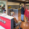The new expansion to George's Barber Shop in Saugus is up and running with a grand opening coming on Monday.