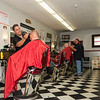 George's Barber Shop has reopened and is ready to take more customers thanks to the recent shop expansion.