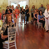 "Nahant, Ma. 6-28-17. Partygoers listen to Dreww Russo at the fundraiser called ""Night in Nahant: A Summer party for the Lynn Museum/LynnArts"" at the historic Nahant Country Club."