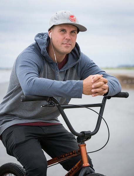 Lynn native Ryan Jordan has travelled the world as a competive BMX rider.