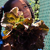 Lynn, Ma. 6-26-17. Kiara Rosario asks instructor Abby Conner questions about the head of lettuce she just picked in the garden at the Lynn YMCA. The garden, in its third year, was installed by the Food Project and not only teaches kids how to plant and harvest but they will learn to cook what they harvested later this summer.