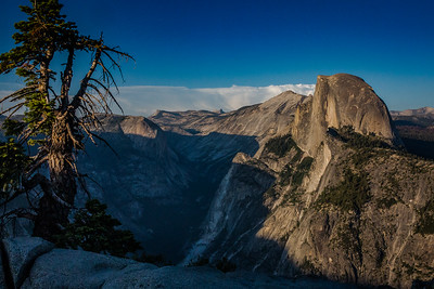 Half Dome and Yosemite Valley Shadow
